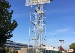 Radio Towers MUAC Eurocontrol Maastricht